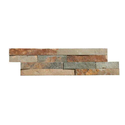 Plaquette de parement Magrit multicolore 10x40cm 0,468m²