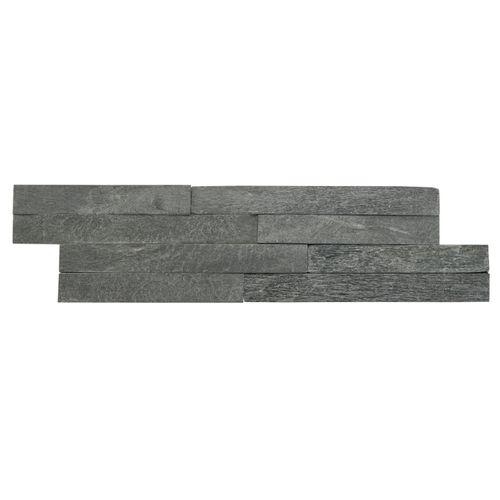 Plaquette de parement Magrit Nero 10x40cm 0,468m²