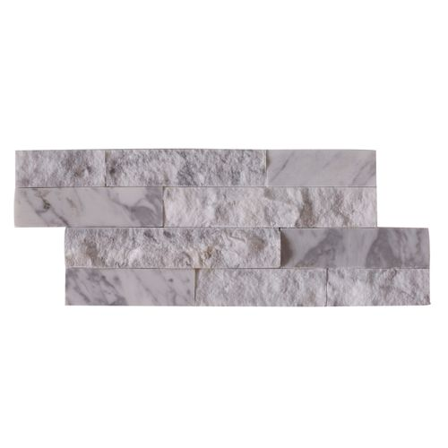 Plaquette de parement Crystal White 15x40cm 0,473m²