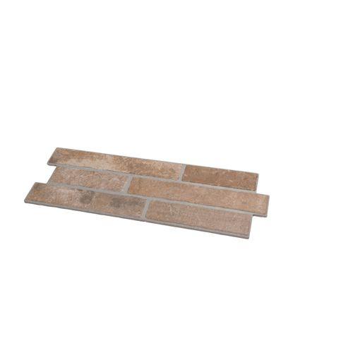 Plaquette de parement en céramique Bricks 17x52cm 1,33m²