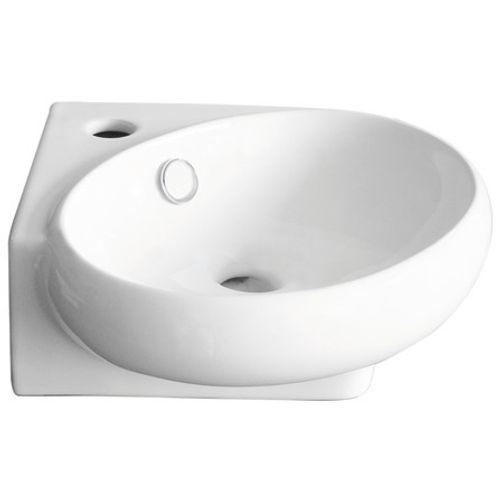 GO by Van Marcke handwasbakje Hugo rechthoekig  400x220x112mm mineraalcomposiet wit