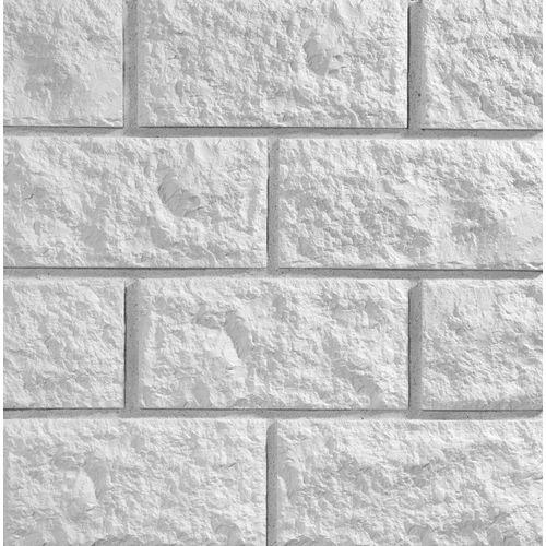 Plaquette de parement Klimex Campana blanc 0,5m²