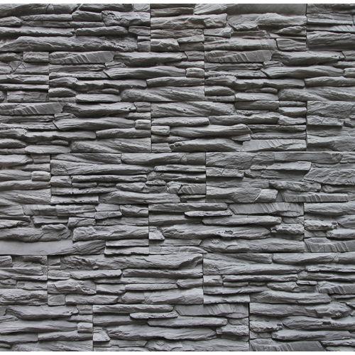 Plaquette de parement Klimex Linari anthracite 0,71m²