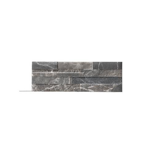 Plaquette de parement Klimex UltraStrong Bologna Marble noir 1,07m²