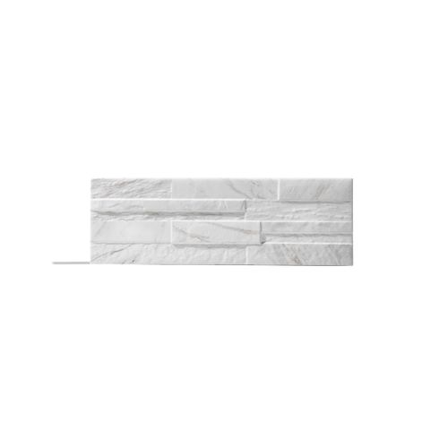 Klimex steenstrip UltraStrong Bologna Marble wit 1,07m²