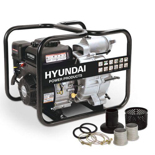 Hyundai vuilwaterpomp benzine 208cc/7pk zwart