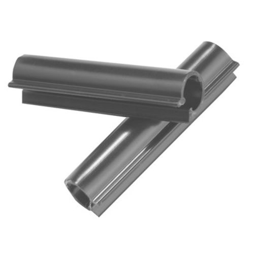 Clips Giardino RAL 7016 anthracite 50mm 100pcs