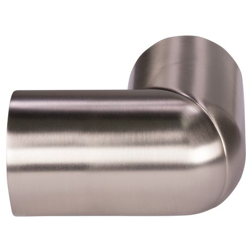 CanDo flexibel koppelstuk voor trapleuningen RVS-look Ø45mm