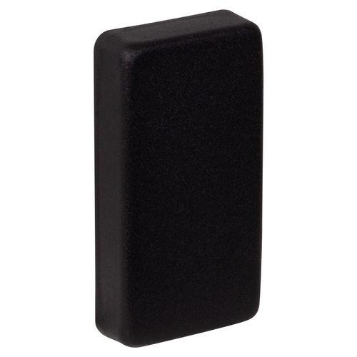 JéWé eindkap trapleuning mat-zwart 50x25mm 2 stuks