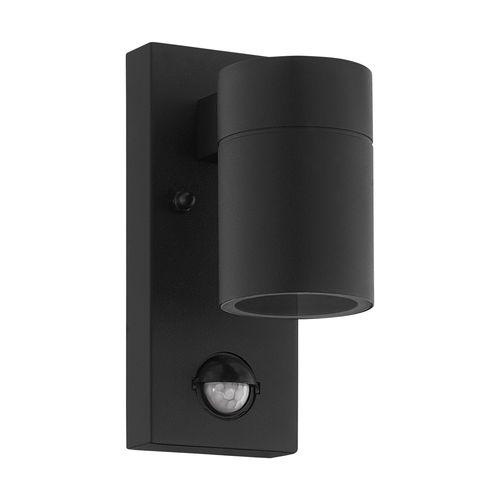 EGLO wandverlichting met sensor Riga zwart GU10