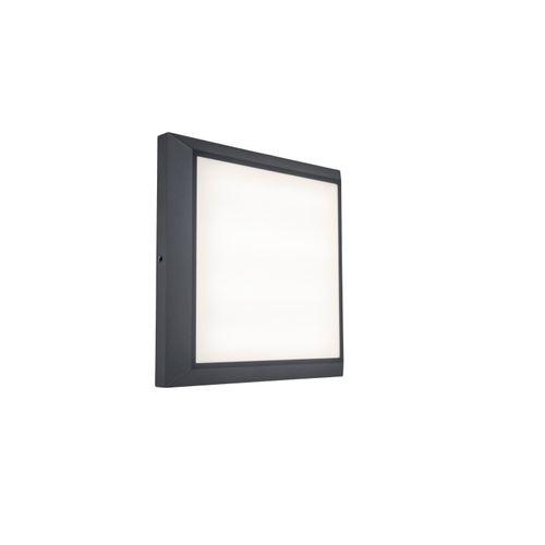 Applique extérieure Lutec LED Helena gris 20W