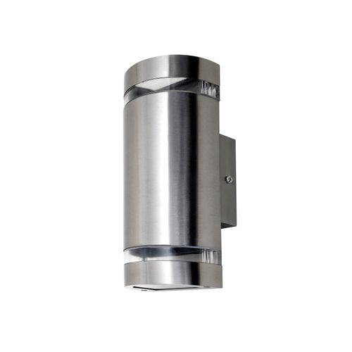 Applique extérieure Lutec Focus métal en acier inoxydable 2xGU10