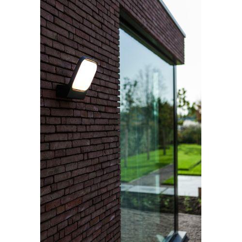 Applique extérieure Lutec LED Kira gris 20W