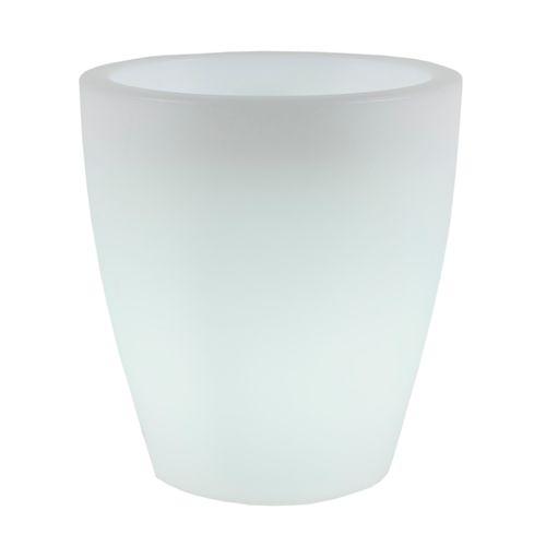 NewGarden bac à fleurs lumineux Violeta 55 lumière blanche