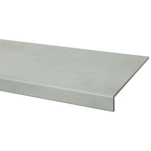 CanDo overzettrede Beton lichtgrijs 38x130cm