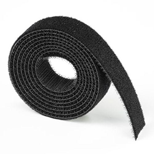 D-Line kabelbinder klittenband 20mm 1,2m zwart