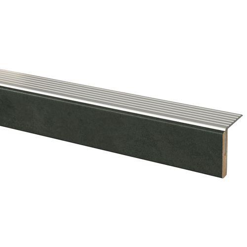 Afwerkprofiel Beton antraciet 5x130cm