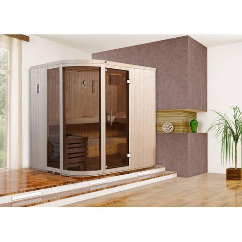 Weka design sauna Sara 1 7,5 kW OS 194x194cm