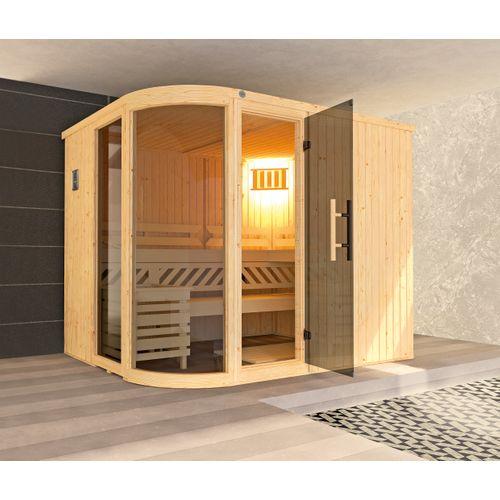 Weka design sauna Sara 2 9,6 kW BioS 194x244cm