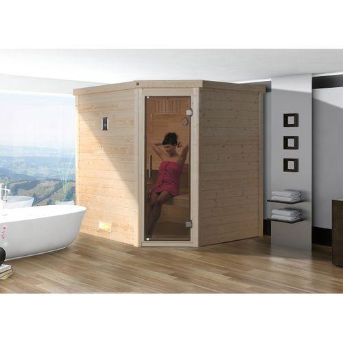 Weka 45mm sauna Turku 1 7,5 kW BioS 178x195cm