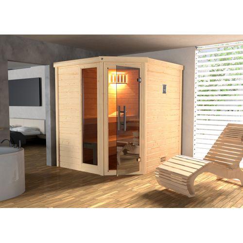 Weka sauna Turku 1 GTF 7,5 kW BioS 178x195cm
