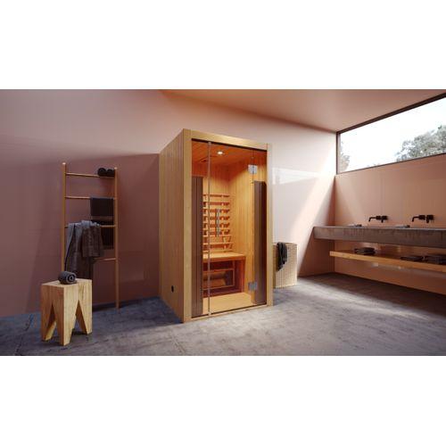 Weka Infrarood sauna Hamina 1 103,5x109,5cm