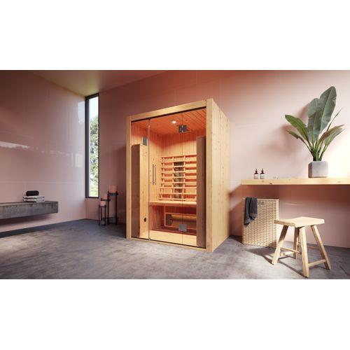 Weka Infrarood sauna Hamina 2 103,5x138cm
