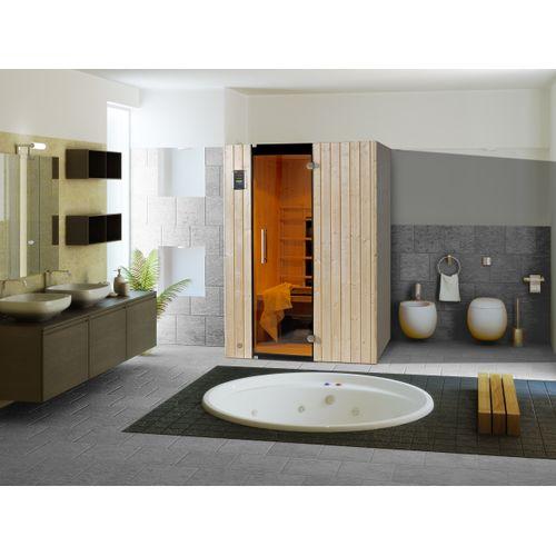 Weka Infrarood sauna Tanilla 2 Compleet 99x137cm