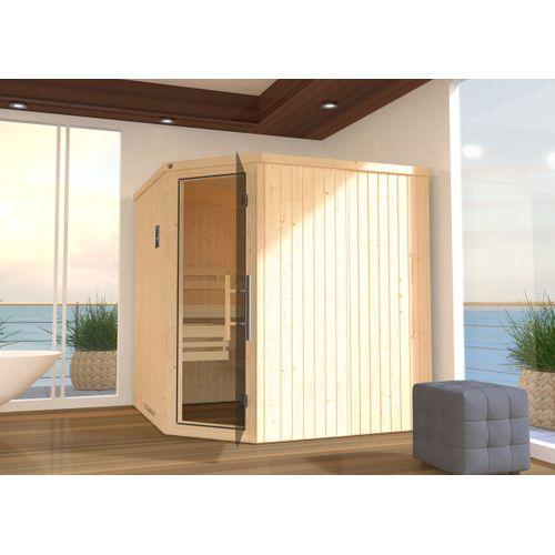 Weka sauna Varberg 3 GT, 7,5Kw BioS 194x194cm