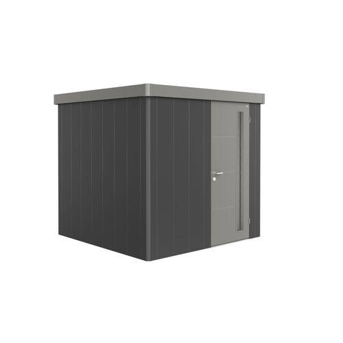 Biohort berging Neo GR3 enkele deur donkergrijs/kwartsgrijs 236x236cm