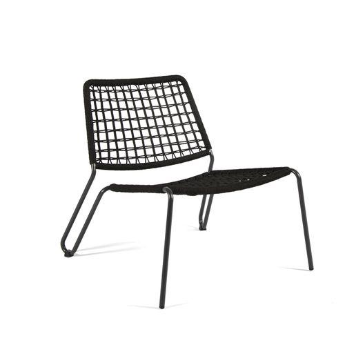 Arcane stoel Fizz stapelbaar PE wicker