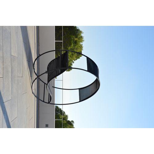 Arcane schommelstoel WooWoo staal textileen
