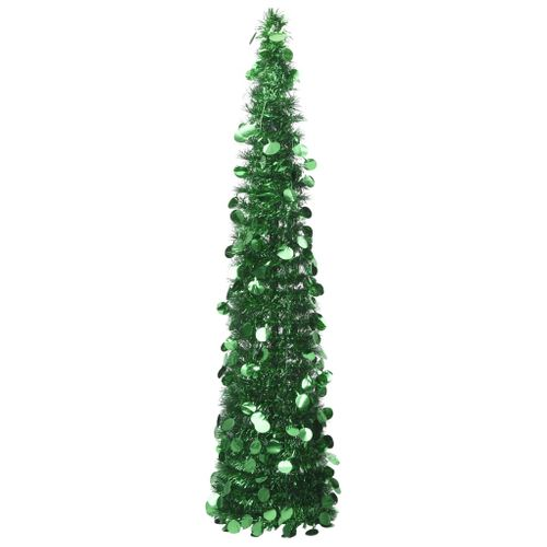 VidaXL Kunstkerstboom pop-up 180 cm PET groen
