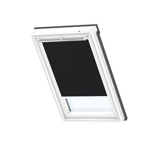 Store d'occultation manuel VELUX white line SK08 3009SWL noir