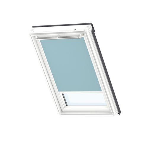 Store d'occultation manuel VELUX white line UK04 4571SWL blue