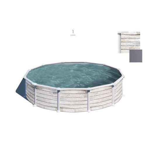 Gre opzetzwembad Nordic set rond Ø460cm