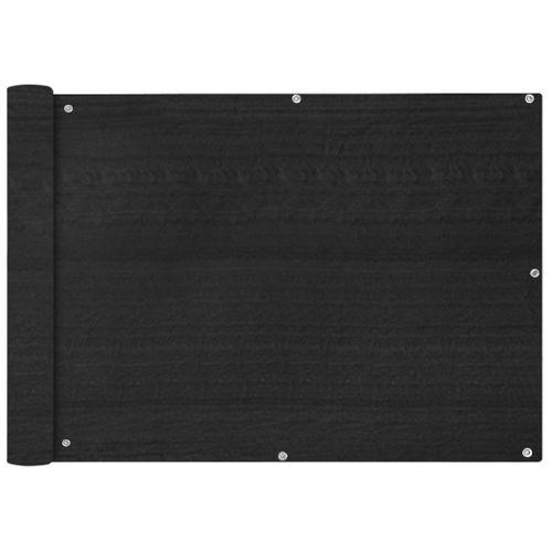 VidaXL balkonscherm HDPE 75x600cm antraciet