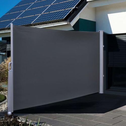 VidaXL HI privacyscherm 3x1,6m polyester zwart