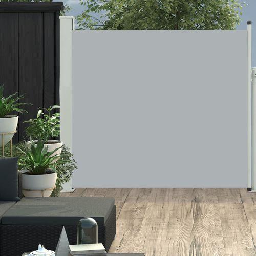 VidaXL tuinscherm uittrekbaar 170x300cm grijs