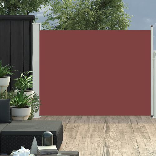 VidaXL tuinscherm uittrekbaar 170x500cm bruin
