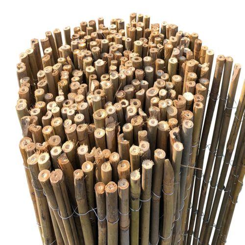 Videx balkonscherm Hongkong Bamboe mat  90x300cm