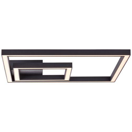 Brilliant plafondlamp LED Quon zwart 23W