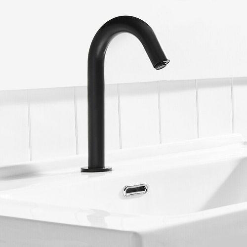 Malvizza sensorkraan koud water hoge uitloop zwart