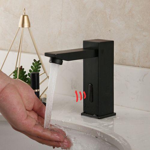 Malvizza  capteur robinet noir de l'eau chaude / froide