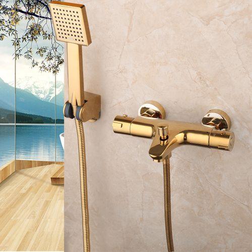 Malvizza  main badkraan carré d'or de douche