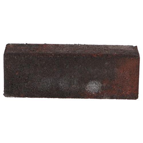 Decor betonsteen dikformaat rood zwart 21x7x7cm