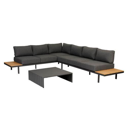 Exotan loungeset Bari aluminium polywood