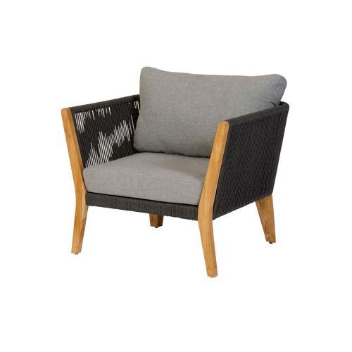 Siège lounge Exotan San Remo gris
