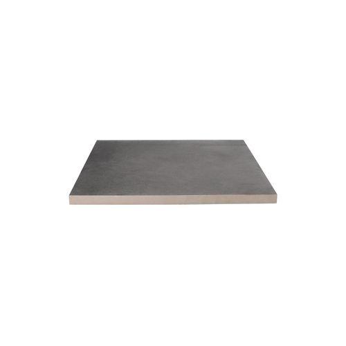 Decor keramische tegel betonlook antraciet 60x60x3cm