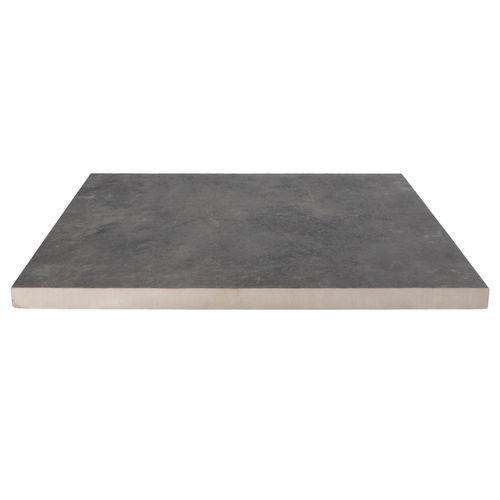 Decor keramische tegel leisteen antraciet 60x60x3cm